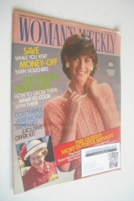 <!--1986-04-19-->Woman's Weekly magazine (19 April 1986 - British Edition)