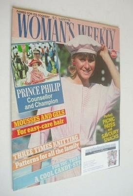<!--1986-06-14-->Woman's Weekly magazine (14 June 1986 - British Edition)