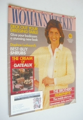 <!--1987-05-02-->Woman's Weekly magazine (2 May 1987 - British Edition)