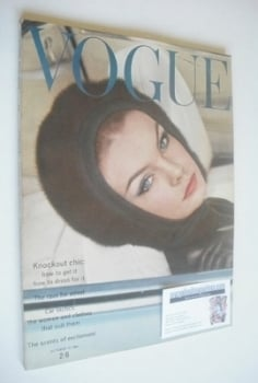 British Vogue magazine - 15 October 1962 (Vintage Issue)
