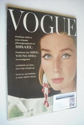 <!--1962-07-->British Vogue magazine - July 1962 (Vintage Issue)