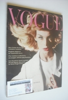 British Vogue magazine - 15 September 1962 (Vintage Issue)