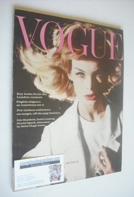<!--1962-09-15-->British Vogue magazine - 15 September 1962 (Vintage Issue)