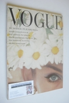 British Vogue magazine - June 1962 (Jean-Shrimpton cover)