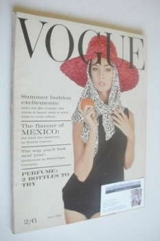 British Vogue magazine - 1 May 1962 (Vintage Issue)