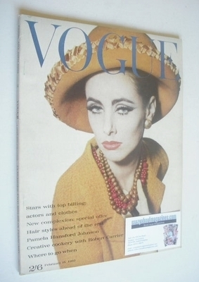 <!--1962-02-15-->British Vogue magazine - 15 February 1962 (Vintage Issue)