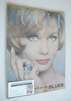 <!--1962-02-01-->British Vogue magazine - 1 February 1962 (Vintage Issue)