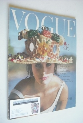 <!--1962-01-01-->British Vogue magazine - 1 January 1962 (Vintage Issue)