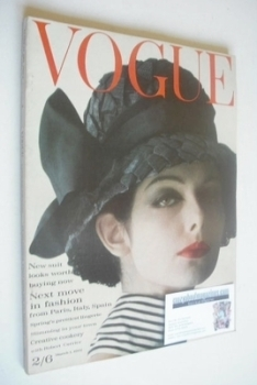 British Vogue magazine - 1 March 1962 (Vintage Issue)