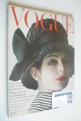 <!--1962-03-01-->British Vogue magazine - 1 March 1962 (Vintage Issue)
