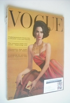 British Vogue magazine - 15 March 1962 (Vintage Issue)
