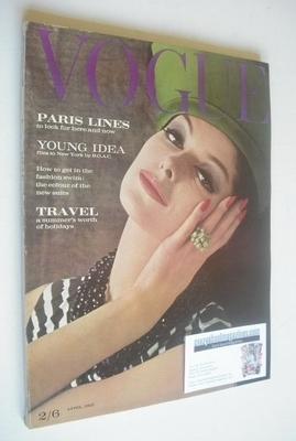 <!--1962-04-01-->British Vogue magazine - 1 April 1962 (Vintage Issue)