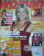 <!--2006-10-09-->Woman magazine - Tina Hobley cover (9 October 2006)