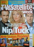 TV & Satellite Week magazine - Nip/Tuck cover (6-12 January 2007)