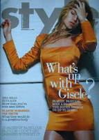<!--2007-09-23-->Style magazine - Gisele Bundchen cover (23 September 2007)
