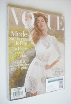 French Paris Vogue magazine - April 2011 - Gisele Bundchen cover