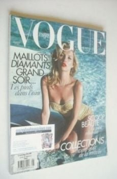 French Paris Vogue magazine - June/July 2010 - Kate Moss cover