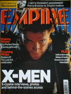 <!--2000-09-->Empire magazine - X-Men cover (September 2000 - Issue 135)