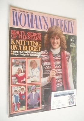 <!--1981-10-31-->Woman's Weekly magazine (31 October 1981 - British Edition