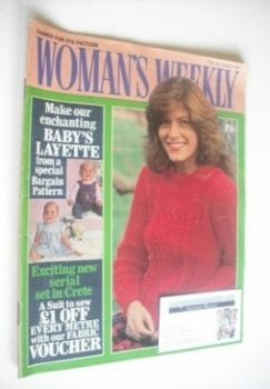 <!--1981-10-17-->Woman's Weekly magazine (17 October 1981 - British Edition)