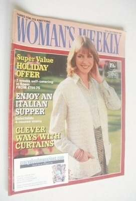 <!--1981-10-10-->Woman's Weekly magazine (10 October 1981 - British Edition