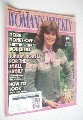 <!--1981-10-03-->Woman's Weekly magazine (3 October 1981 - British Edition)