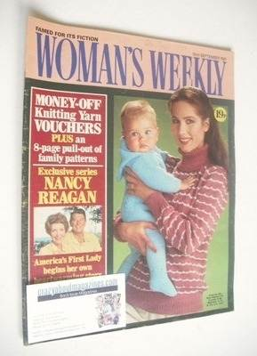 <!--1981-09-19-->Woman's Weekly magazine (19 September 1981 - British Editi