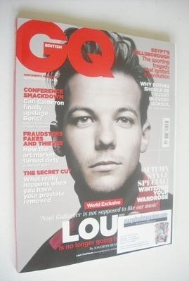 <!--2013-09-->British GQ magazine - September 2013 - Louis Tomlinson cover