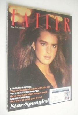 <!--1981-11-->Tatler magazine - November 1981 - Brooke Shields cover