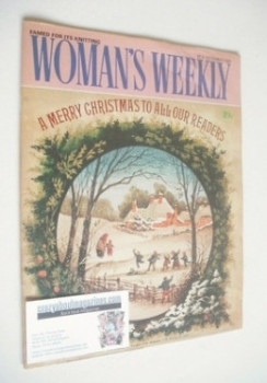 <!--1981-12-26-->Woman's Weekly magazine (26 December 1981 - British Edition)