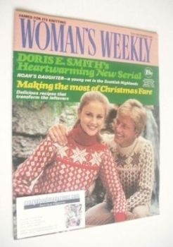 <!--1981-12-12-->Woman's Weekly magazine (12 December 1981 - British Edition)