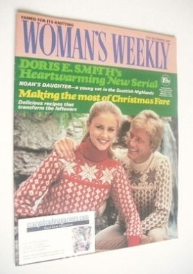 <!--1981-12-12-->Woman's Weekly magazine (12 December 1981 - British Editio