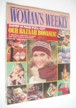 <!--1981-12-05-->Woman's Weekly magazine (5 December 1981 - British Edition)
