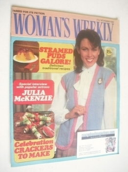 <!--1981-11-21-->Woman's Weekly magazine (21 November 1981 - British Edition)