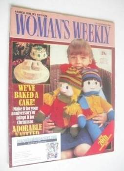 <!--1981-11-07-->Woman's Weekly magazine (7 November 1981 - British Edition)