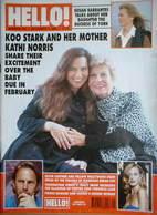 <!--1996-12-07-->Hello! magazine - Koo Stark cover (7 December 1996 - Issue
