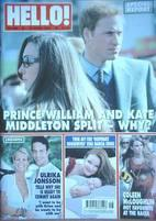 <!--2007-04-24-->Hello! magazine - Prince William and Kate Middleton cover