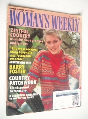 <!--1983-01-15-->Woman's Weekly magazine (15 January 1983 - British Edition