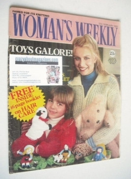 <!--1983-02-12-->Woman's Weekly magazine (12 February 1983 - British Editio