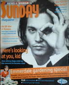 <!--2000-05-14-->Sunday magazine - 14 May 2000 - Johnny Depp cover