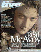 <!--2007-02-18-->Live magazine - James McAvoy cover (18 February 2007)