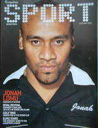 Esquire Sport magazine - Jonah Lomu cover (Autumn 2001)