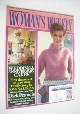 <!--1983-03-05-->Woman's Weekly magazine (5 March 1983 - British Edition)