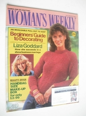 <!--1983-03-12-->Woman's Weekly magazine (12 March 1983 - British Edition)
