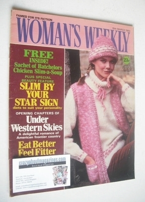 <!--1983-03-19-->Woman's Weekly magazine (19 March 1983 - British Edition)