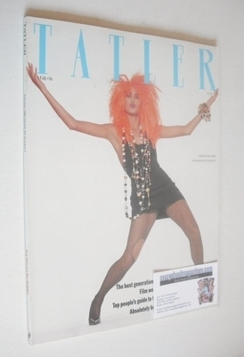 <!--1986-02-->Tatler magazine - February 1986 - Yasmin Le Bon cover