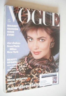<!--1986-09-->British Vogue magazine - September 1986 - Paulina Porizkova c