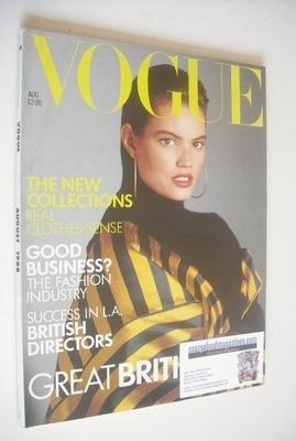 <!--1988-08-->British Vogue magazine - August 1988