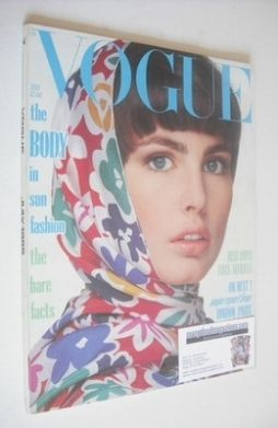 <!--1985-07-->British Vogue magazine - July 1985