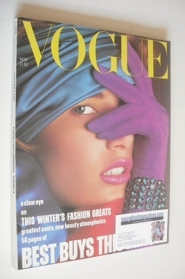 <!--1984-11-->British Vogue magazine - November 1984 (Vintage Issue)